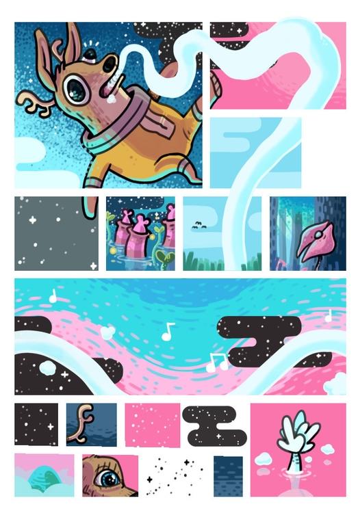 Identity - spacedeer, comic, soul - indiana_jonas | ello