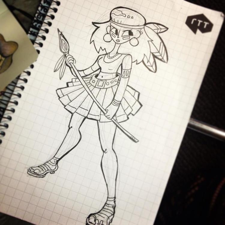 doodle - sketch - jessdrawz | ello