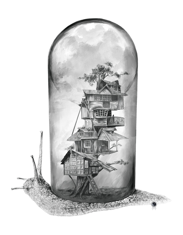 Snail - Evolving Home --Digital - adamdunt | ello