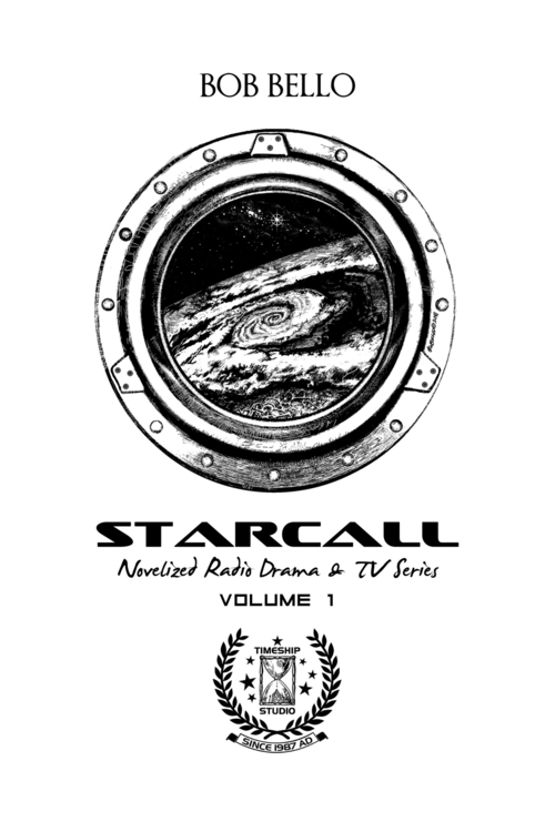 Title page Starcall Anthology,  - timeship | ello