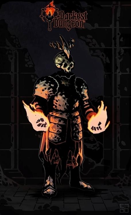 Darkest Dungeon fan art - illustration - grositskiy | ello