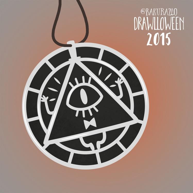 15 - Amulet (Bill Cipher Design - clairestamper | ello