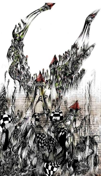 Invisible Cities - Marozia - illustration - ibtisam   ello