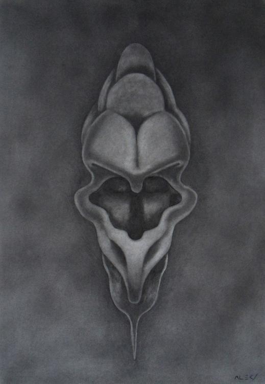 Graphite paper - totem, graphite - alecs-1191 | ello