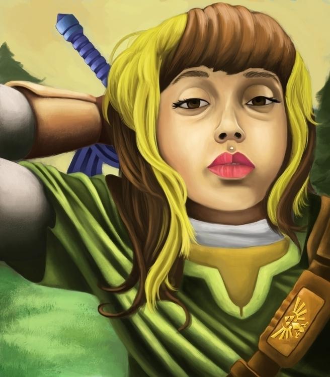 Cousin Link - portraitillustration - andyanime90   ello