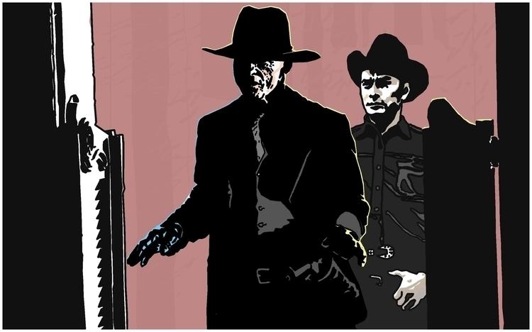 Westworld - EdHarris, Gunslinger - zhenyayanovich | ello