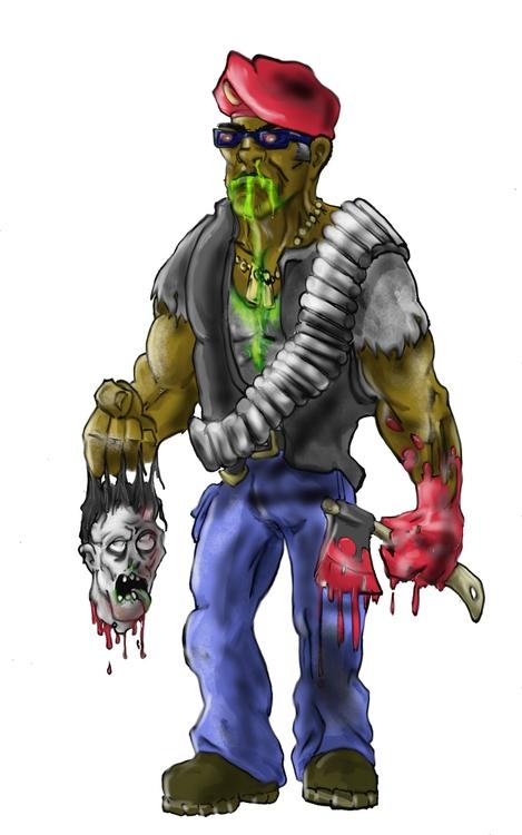 Zombie hunter - sylvaroth | ello