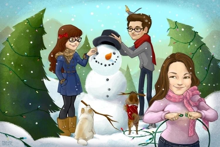 Family, Christmas 2014 - family - barkpointstudio | ello