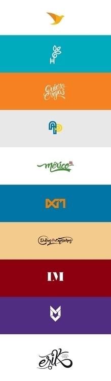 Logos monograms / design logos - erikdgmx | ello