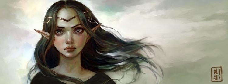 Sophia, Shadow Princess - illustration - niji-4647 | ello
