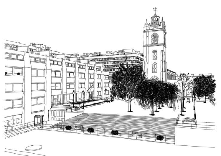 illustration, barbican, photography - santicp | ello