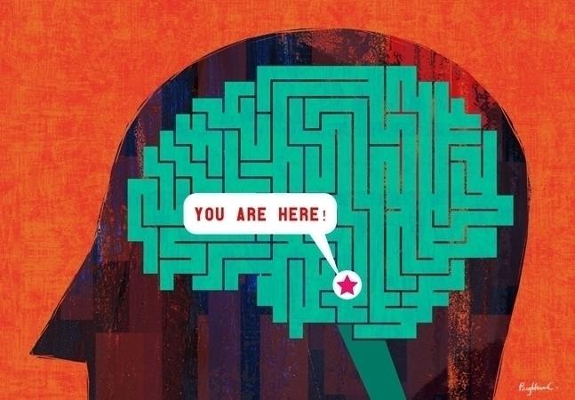 maze, brain - ping-7637 | ello