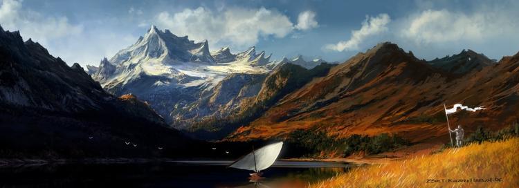 illustration, painting, conceptart - qci | ello
