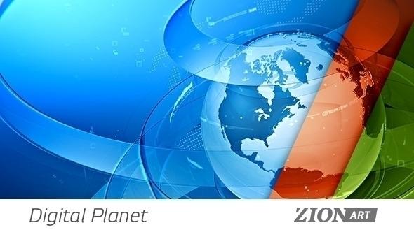 Digital Planet Loop - motiondesign - zionart | ello