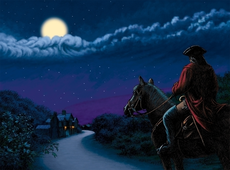 Highwayman. Illustration poem A - dannybriggs | ello