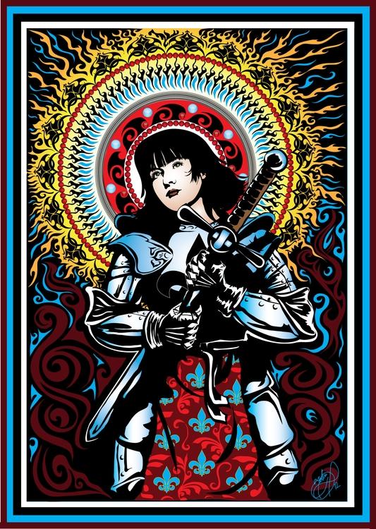 Joan Arc - joanofarc, saint, catholic - tobinpilotte | ello