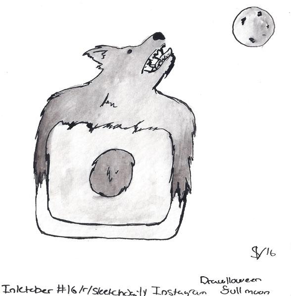 theme - Instagram Drawlloween20 - svaeth | ello