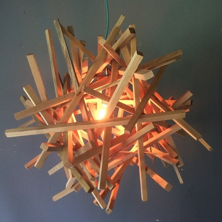 Kindling Series Chandelier - #lighting#unique#whiteoak#interiordesign - toddaustin | ello