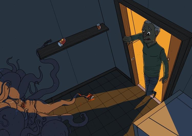 pantry - illustration, illustrated - odddino | ello