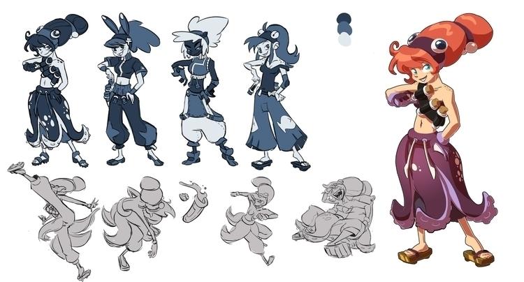 Manta - characterdesign, fish - emanuelearnaldi | ello