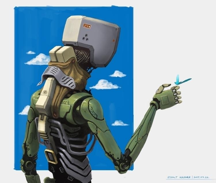 droid, drone, robot, android - qci | ello