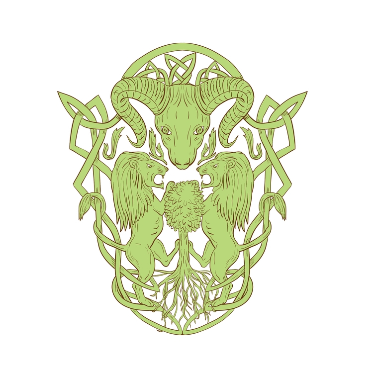 Tree Coat Arms Celtic - Bighorn - patrimonio | ello