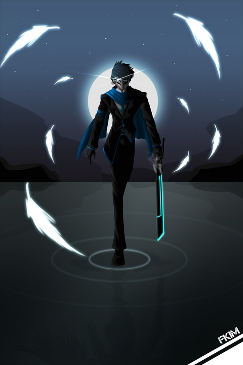 RWBY OC 7 - illustration, characterdesign - fkim90 | ello