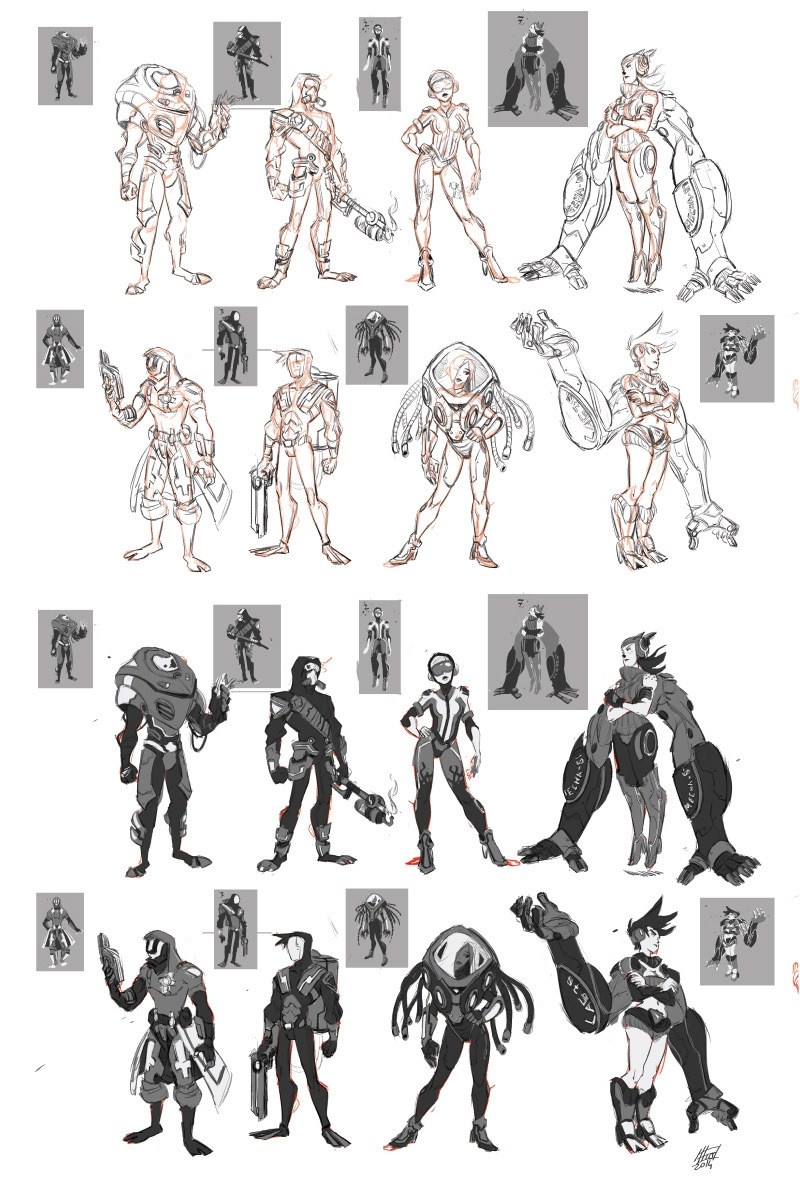 character process - 2 anatomy p - emanuelearnaldi | ello