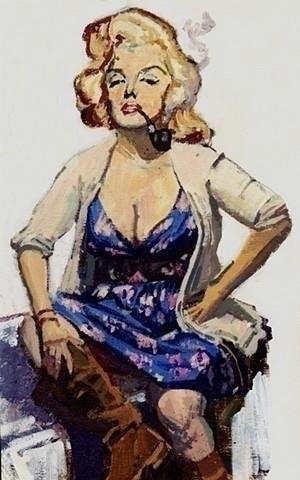 Likeness Marilyn Monroe Pulp Cl - lissaphooka | ello