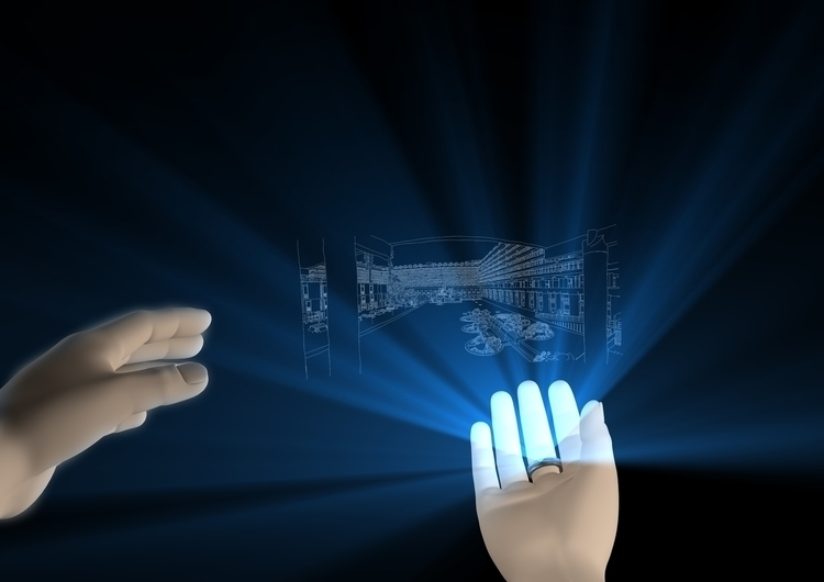 3d, hologram, design, concept - santicp | ello