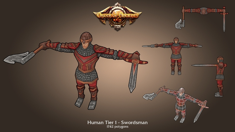 characterdesign, gameart, lowpoly - mmkh-5844 | ello