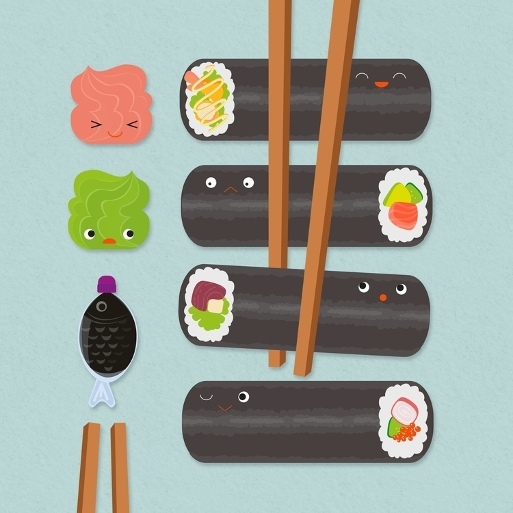SUSHI APP // Game Elements Desi - terriph | ello