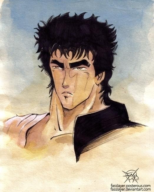 Kenshiro Hokuto Ken - fanart, kenshiro - fasslayer | ello