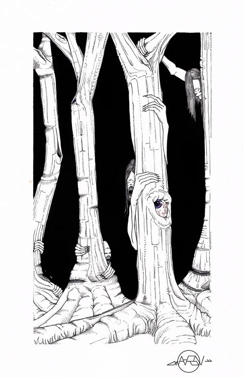 Family. live woods house - illustration - thecreativefish | ello