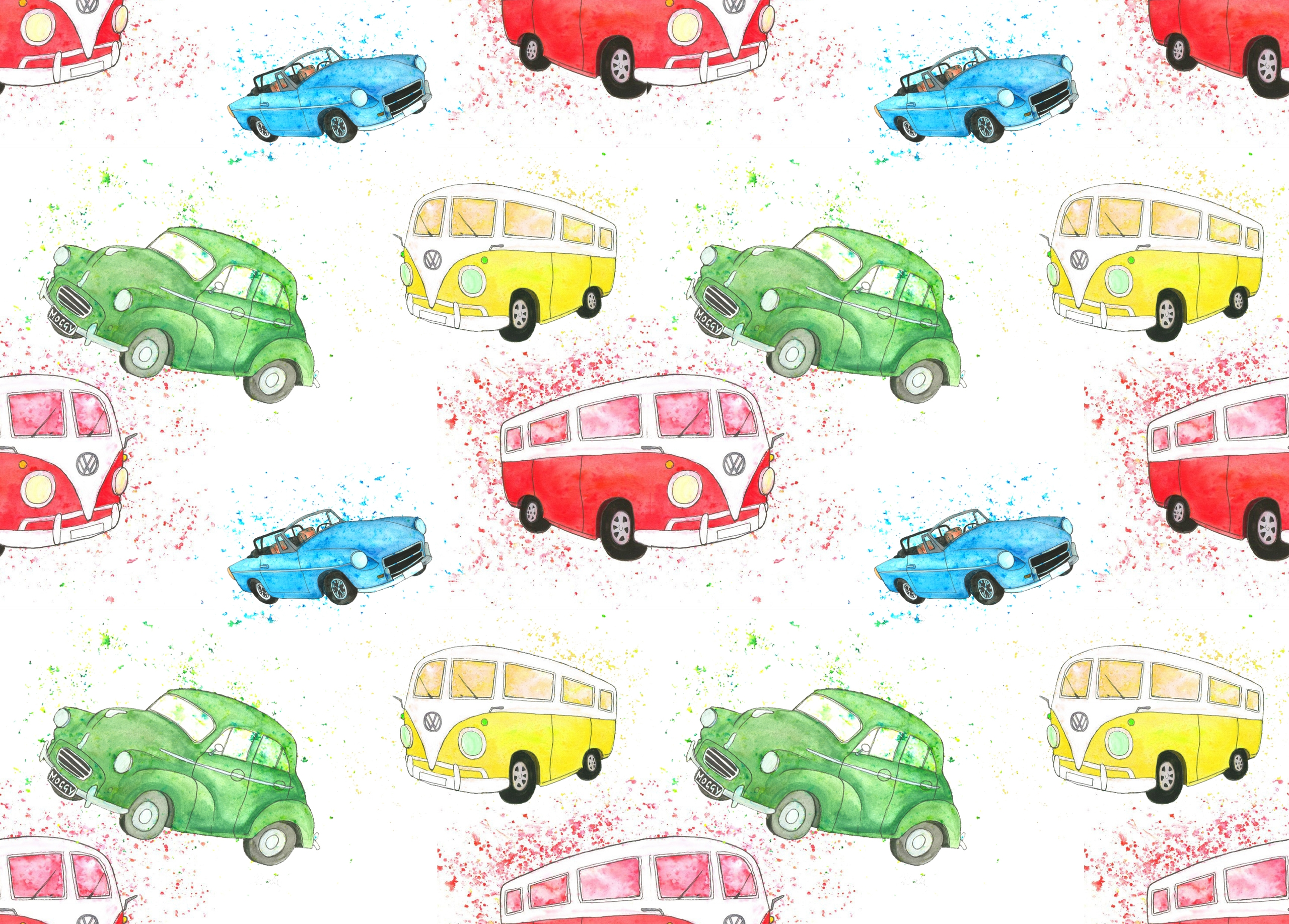 playing repeat pattern idea car - izzywoolley | ello