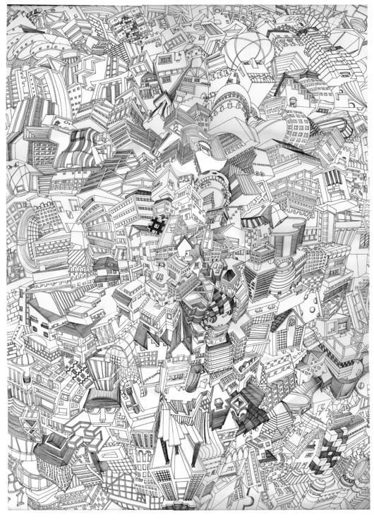 Louie Ville 2014. pen paper - illustration - yateun | ello