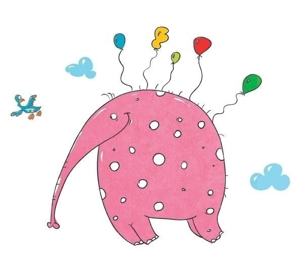 Hey Elephant - characterdesign, elephant - katerikart | ello