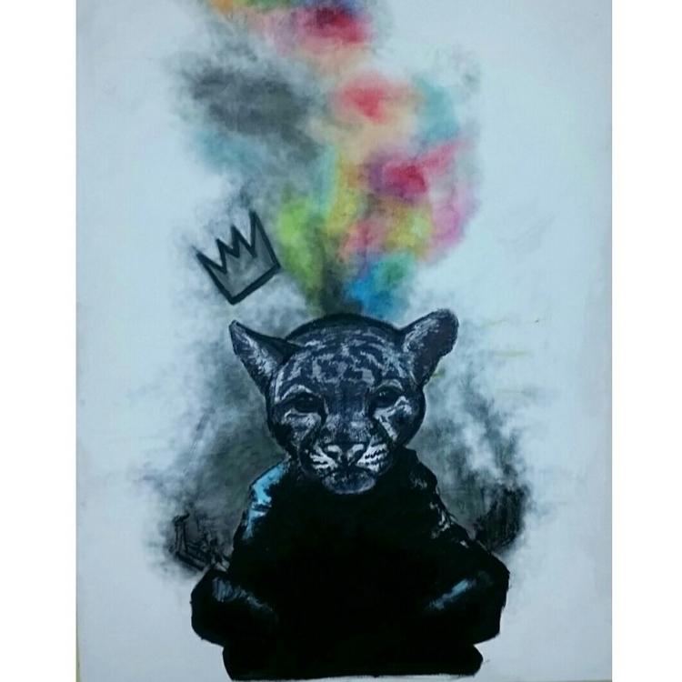 Unleashed - painting - mark_iamart   ello