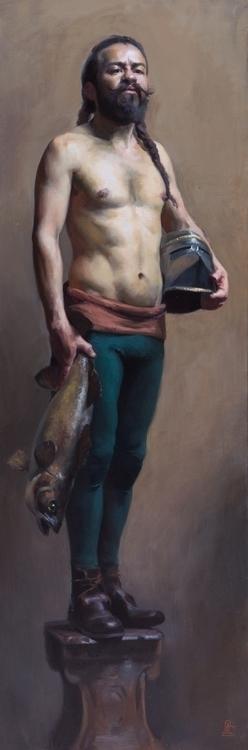 Ozymandias, Oil Canvas, 2015 - painting - sarachong | ello