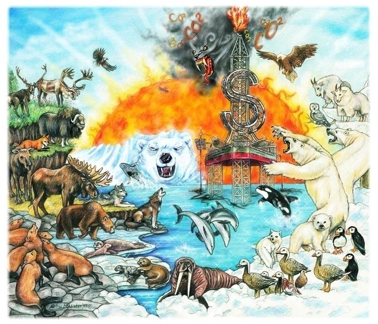 Environmental illustration - maryann-6495 | ello