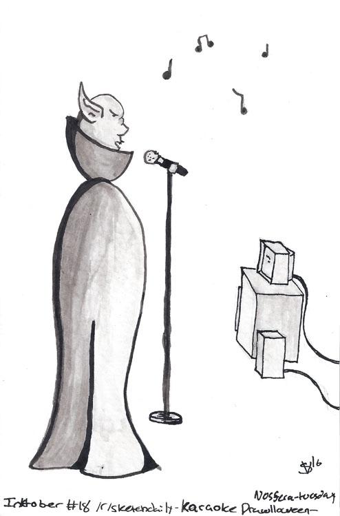 theme Karaoke Drawlloween2016 N - svaeth | ello