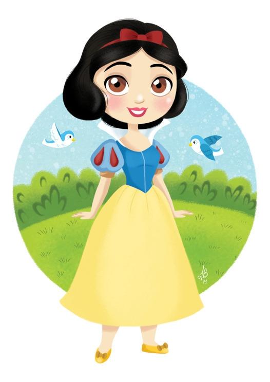 Princess Snow White Dwarfs - snowwhite - inesbarros | ello