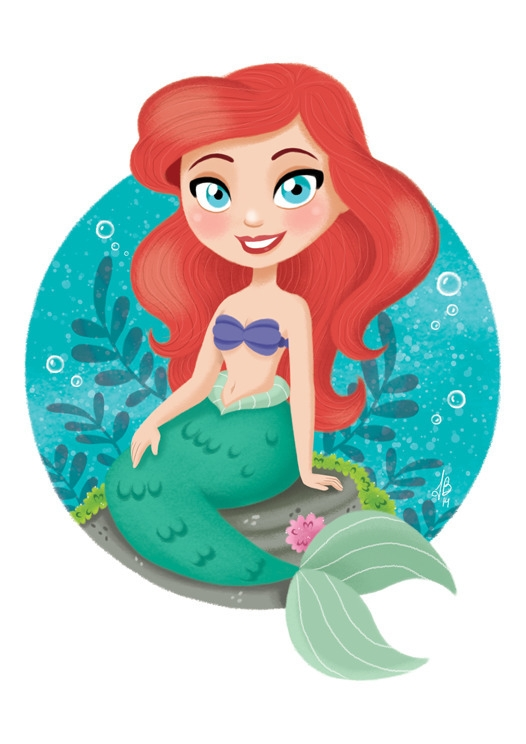 Princess Ariel Mermaid - ariel, mermaid - inesbarros | ello