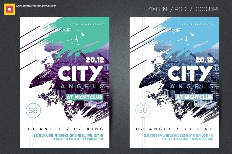 City Angels Flyer - design, cityflyer - satgur | ello