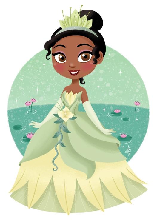 Princess Tiana Frog - tiana, princesstiana - inesbarros | ello