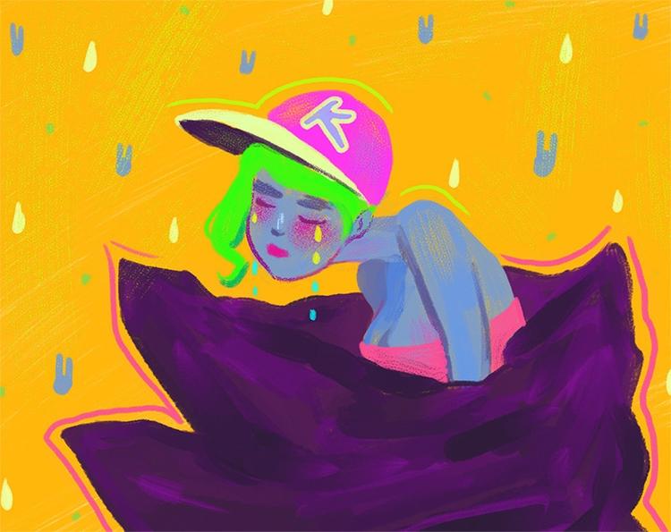 Bodybag - illustration, painting - tinch-5314   ello