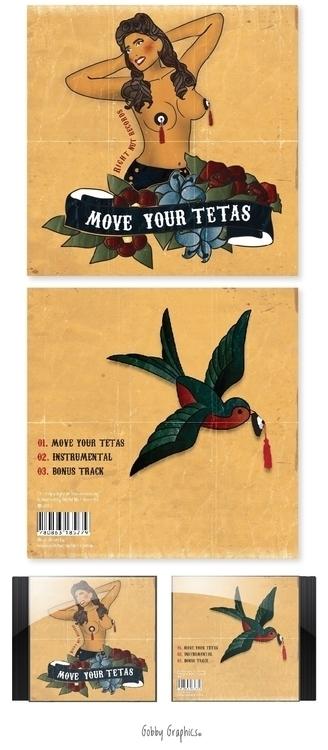 'Move Tetas' EP cover design il - rachellucetteadams | ello