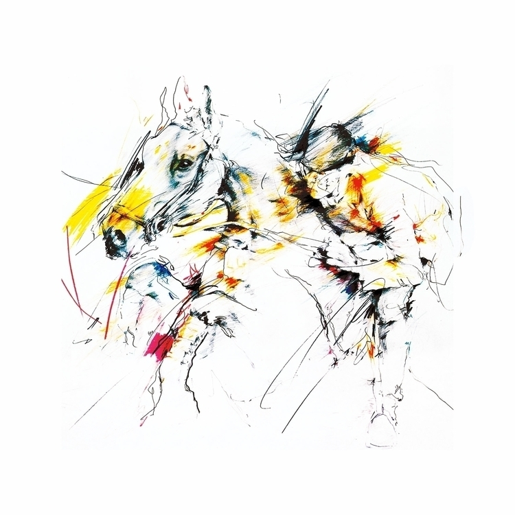 equestrian inspiration - illustration - pasztor | ello