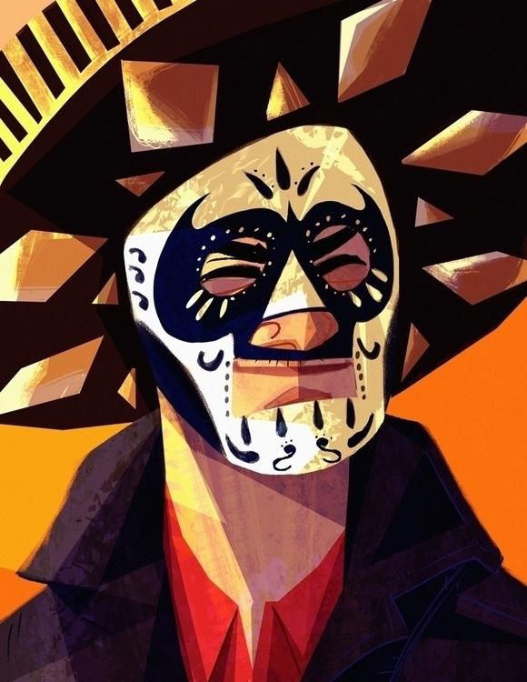 Halloween/Dia de Los Muertos av - artsypabster | ello