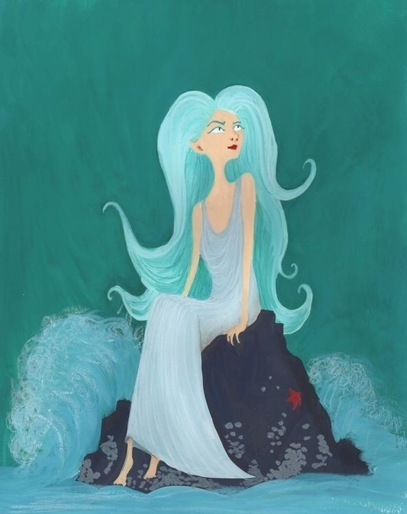 Siren - fantasy, illustration, kidlitart - beth-6270 | ello